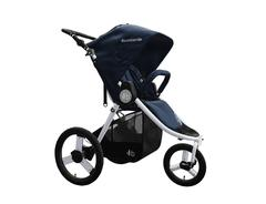 2020 Bumbleride Speed Jogging Stroller 3D in Maritime Blue  Olive Green Matte Black