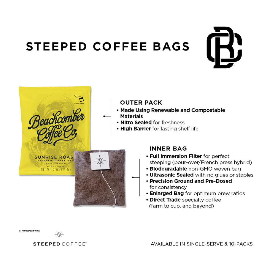 Steeped Coffee - Single Pack