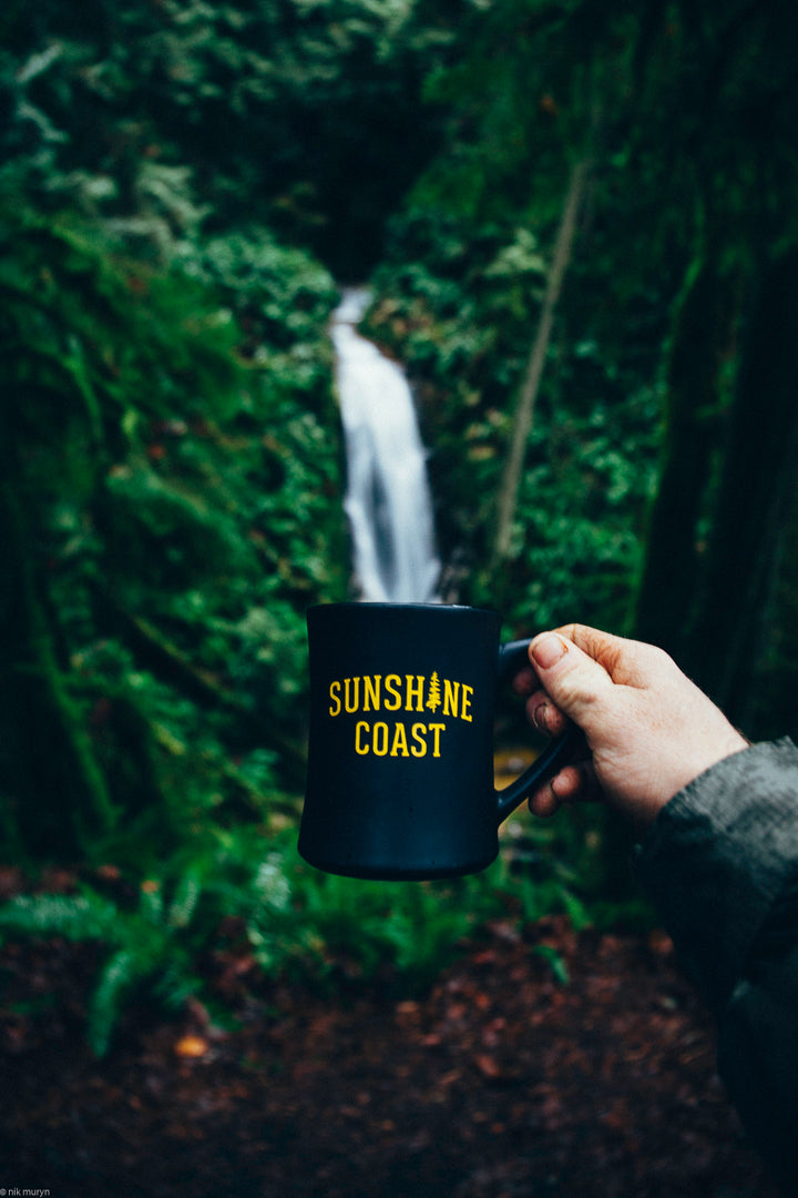 Black Sunshine Coast Mug