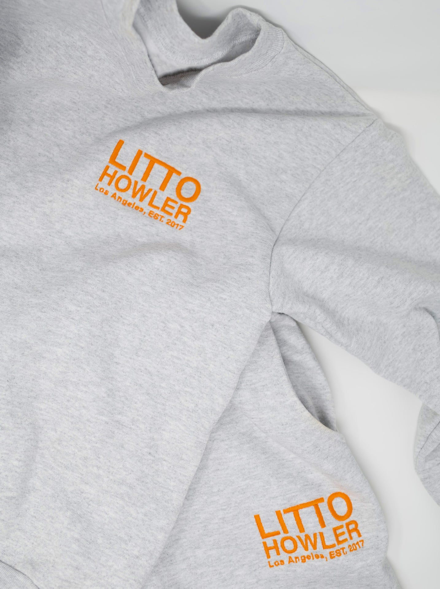 LH Embroidered Crew Neck