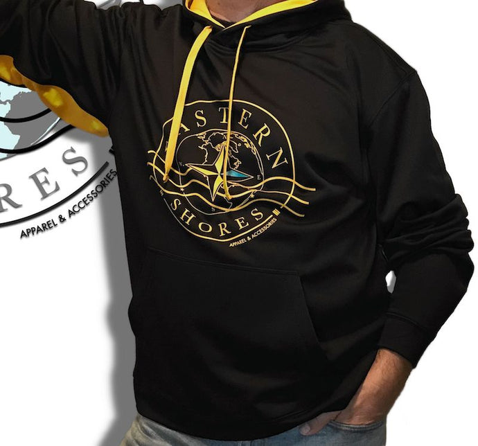 Hoodie - Athletic Color Block Hoodie - Eastern Shores Apparel & Accessories