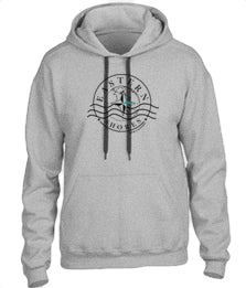 Hoodie Small Logo - ES Casual Hoodie  Small Logo - Eastern Shores Apparel & Accessories