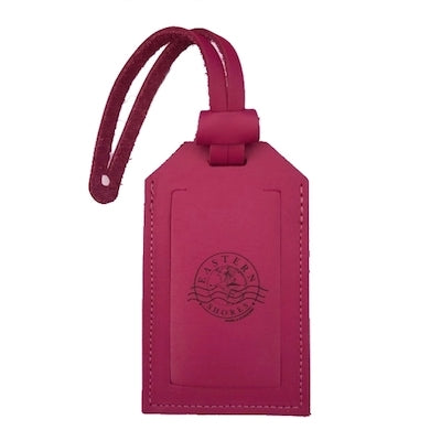 Leather Luggage Tag - Eastern Shores Apparel & Accessories