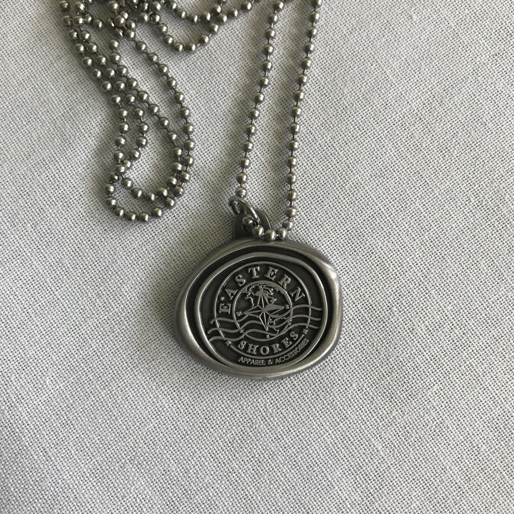 Jewelry Collection - Antique Seal Pendant - Eastern Shores Apparel & Accessories