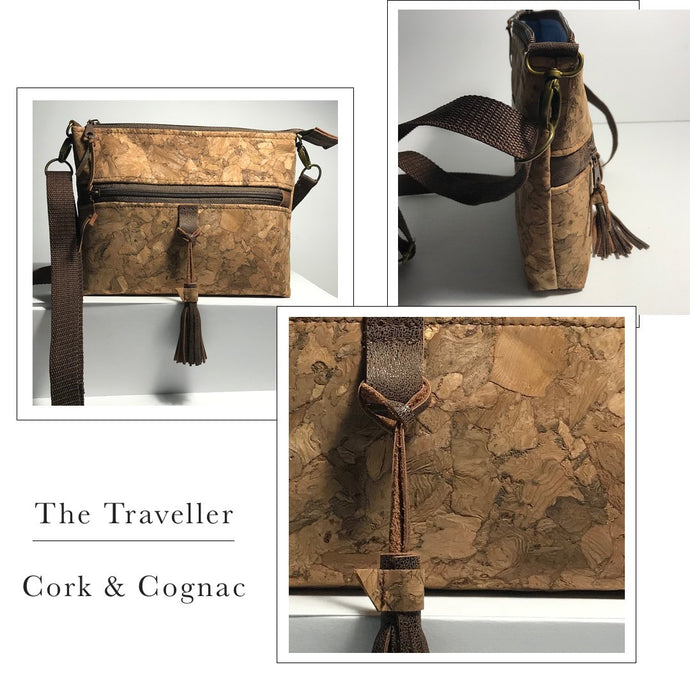 Atelier Collection The Traveller Handbag Cork - Eastern Shores Apparel & Accessories