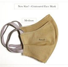 Contoured Face Mask - The Dots