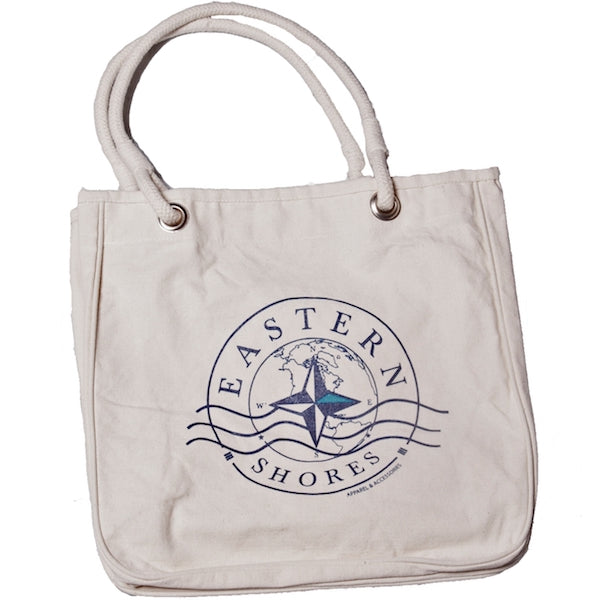 Tote Bag Organic Cotton - Eastern Shores Apparel & Accessories