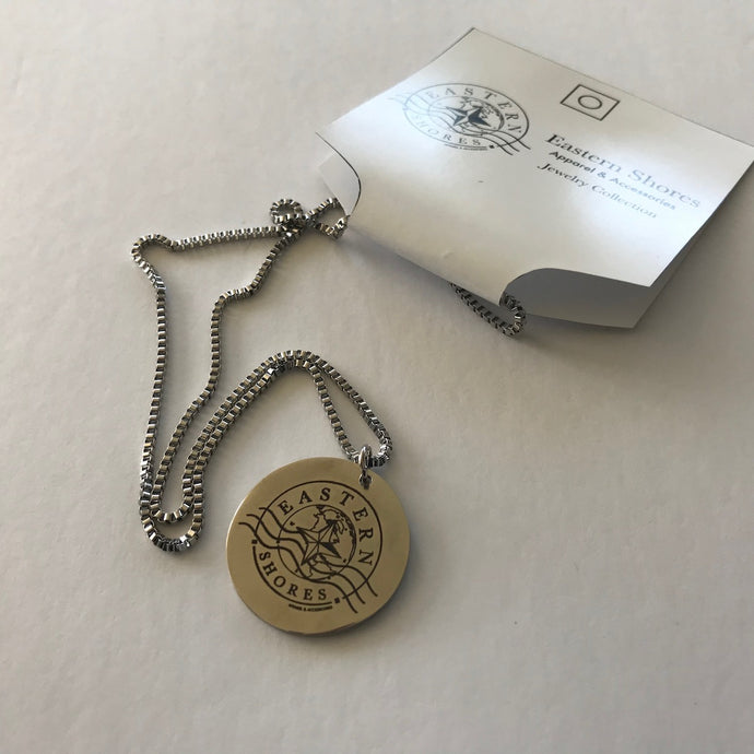 Jewelry Collection Round Pendant Necklace - Eastern Shores Apparel & Accessories