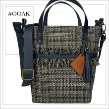 Load image into Gallery viewer, The Bucket Handbag - Tweed and Leather