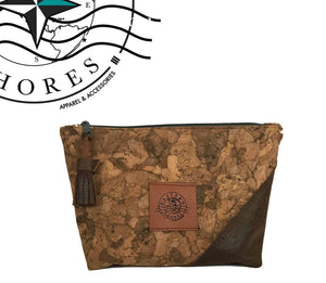 ATELIER COLLECTION Cork Cosmetic Bag - Eastern Shores Apparel & Accessories