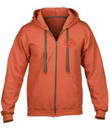 Hoodie Drop Shoulder Zip - Eastern Shores Apparel & Accessories