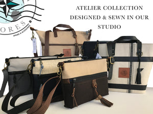 Atelier Collection The Traveller Handbag - Eastern Shores Apparel & Accessories