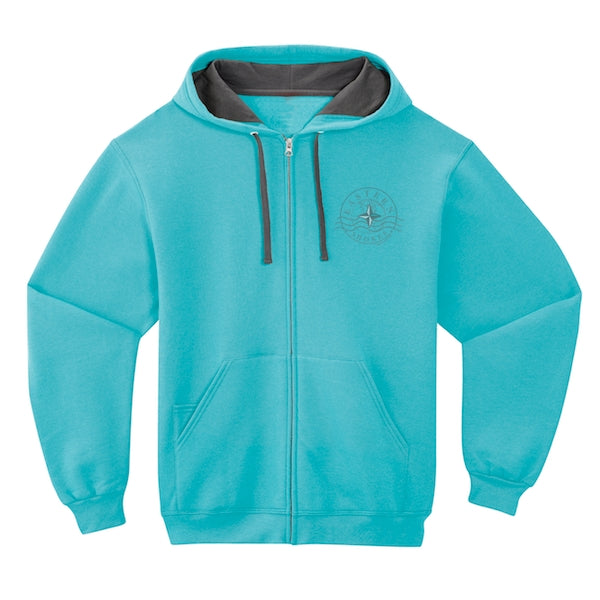 Hoodie Casual Zip - Eastern Shores Apparel & Accessories