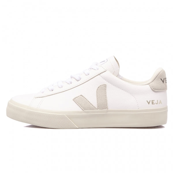 Veja Men's Campo Suede & Leather, White / Natural