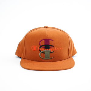 SUPREME x Champion Snapback, Brown , ONE SIZE