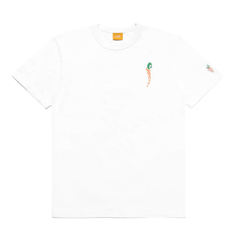 Carrots Groovy Wordmark S/S Tee, White