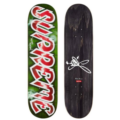 Supreme Skateboard, Lee Logo 2018