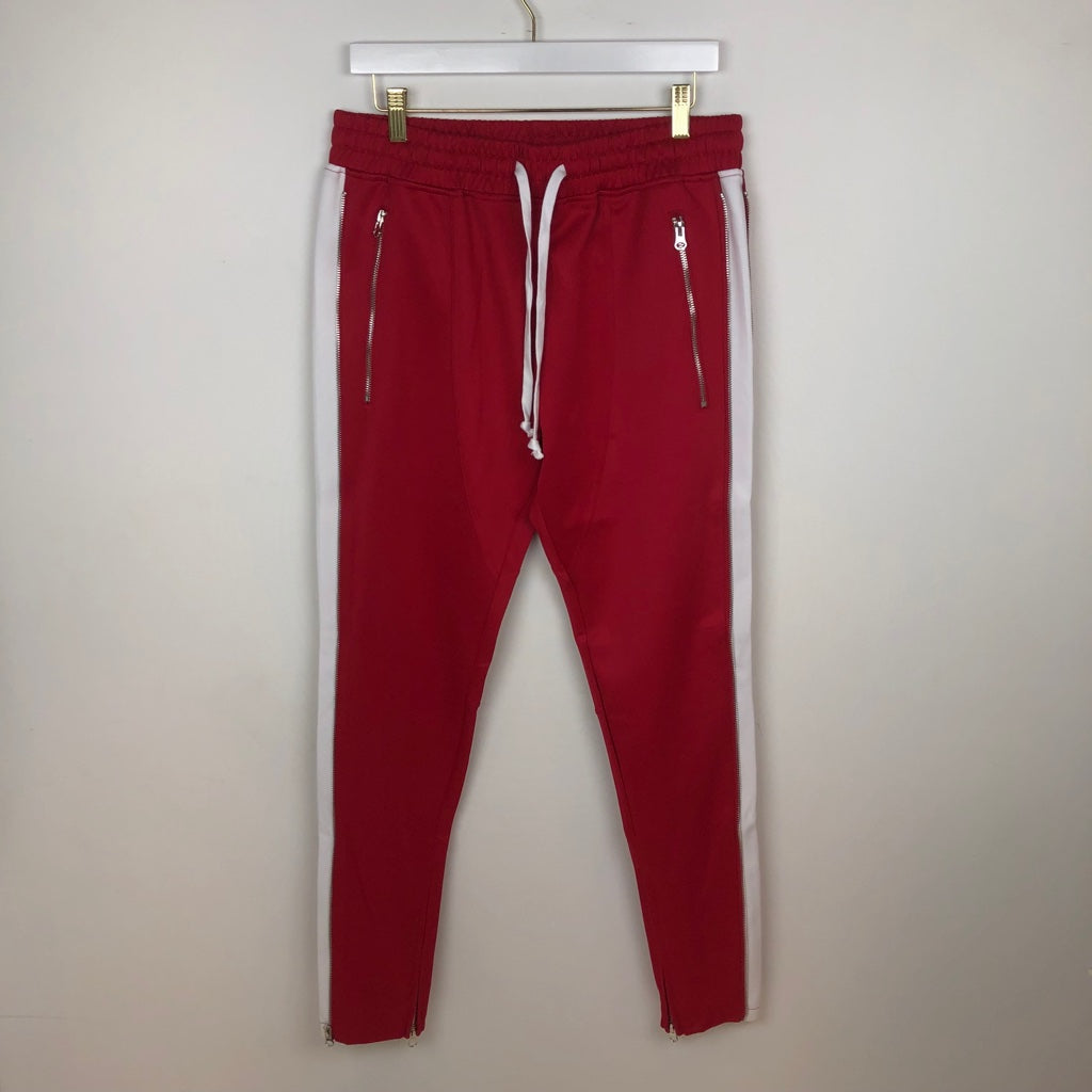 Karter, Train Track Pant, Red