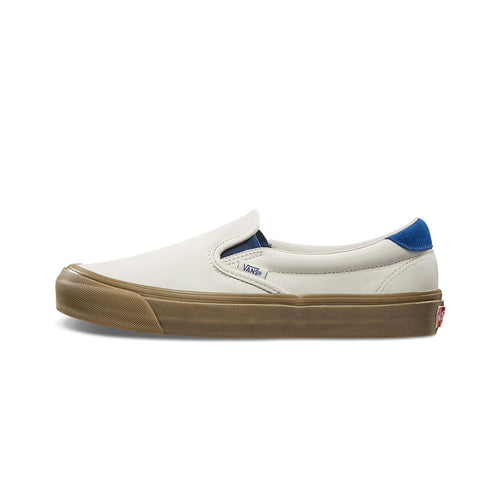 Vans Vault, OG Slip-On, Leather/Suede, Marshmallow
