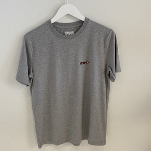 Bricktown Paris Life Bar S/S T-shirt, Grey