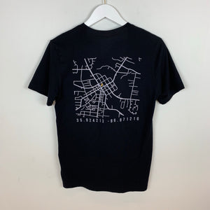 CITIZEN, Pocket Logo MAP ss Tee, Black