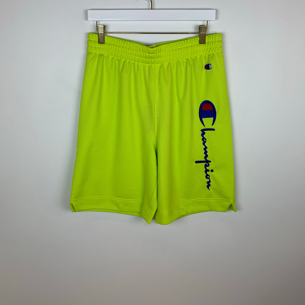 Champion Europe Reverse Weave, Athletic Shorts, Neon Yellow