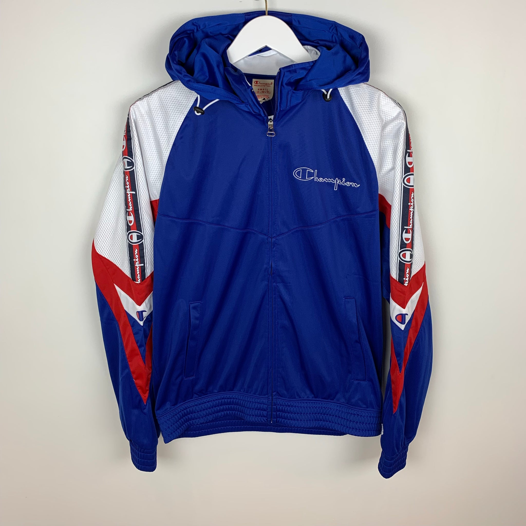 Champion Europe Reverse Weave, Athletic Jacket, Blue
