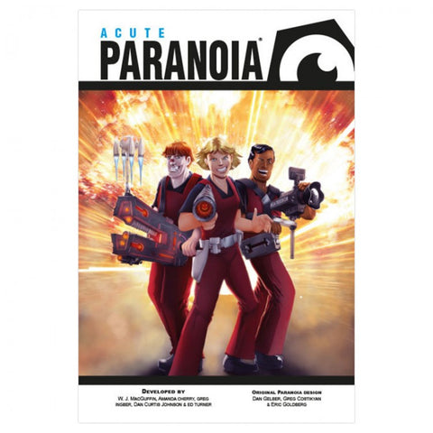 Paranoia: Acute: Box Set