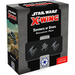 Star Wars X-Wing : 2nd edition Servants of Strife Squadron Pack