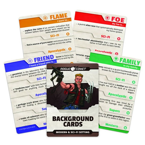 Background Cards Modern/Sci-Fi Setting
