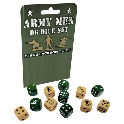 Army Men D6 Set