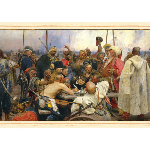 The Reply of the Cossacks: 1000-Piece Velvet-Touch Jigsaw Puzzle [With Print]