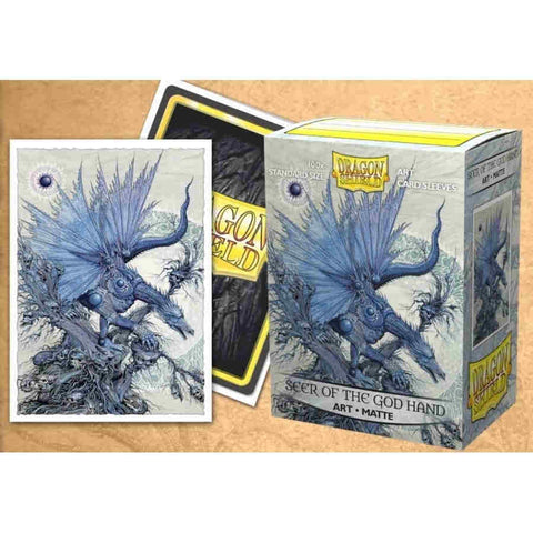 Dragon Shield 100CT Box matte Art Seer of the God Hand