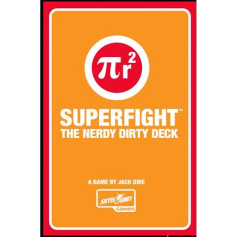 Superfight Nerdy Dirty Deck