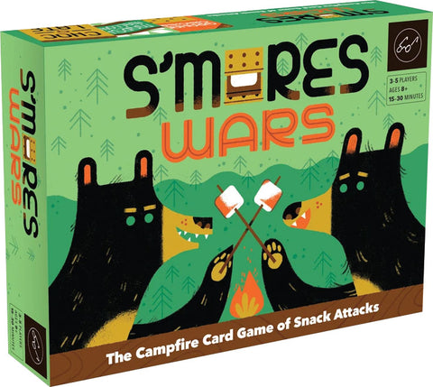 S`mores Wars: The Campfire Card Game of Snack Attacks