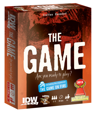 The Game + The Game on Fire Expansion