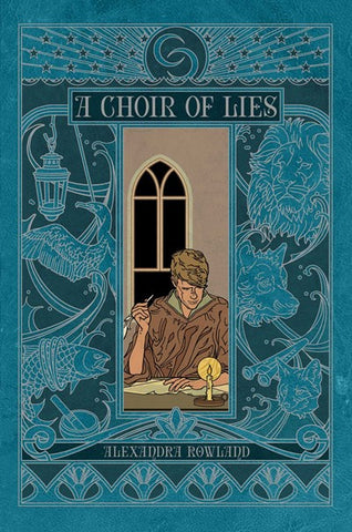 A Choir of Lies [Rowland, Alexandra]