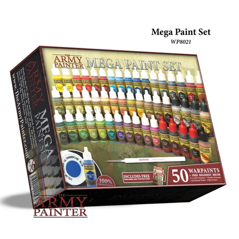 The Army Painter Mega Paint Set 2017