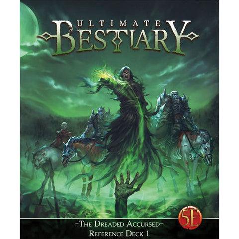 Ultimate Bestiary: The Dreaded Accursed - Reference Deck 1