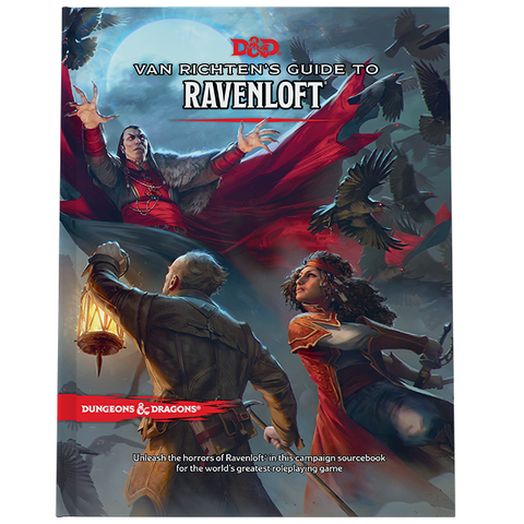 PREORDER: D&D 5E: Van Richten's Guide to Ravenloft (Regular Cover)