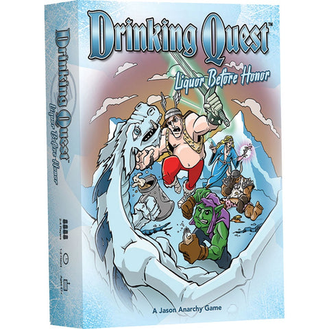 Drinking Quest: Liquor Before Honor