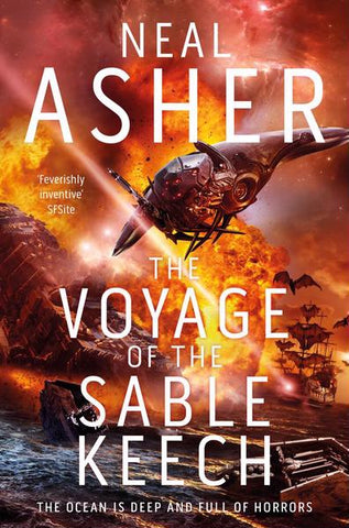 The Voyage of the Sable Keech (Spatterjay, 2) [Asher, Neal]