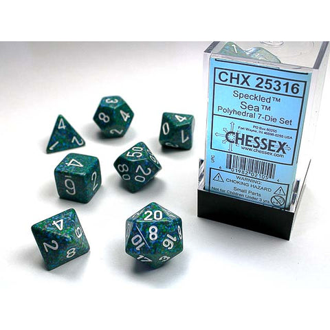 Speckled Sea 7 Dice Set [CHX25316]