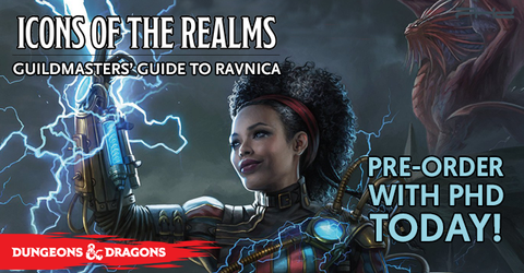 Icons of the Realms: Guilds of Ravnica Prepainted Mini Booster