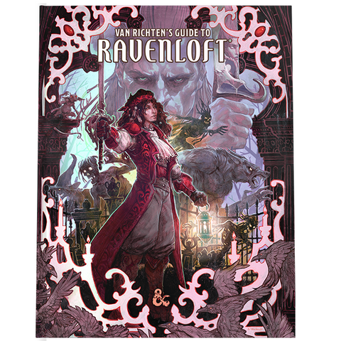 PREORDER: D&D 5E: Van Richten's Guide to Ravenloft (Alt Art Exclusive Cover)
