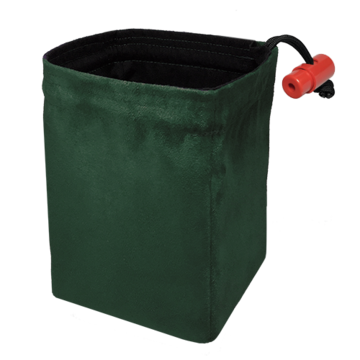 Red King Dice Bag: Classic Green