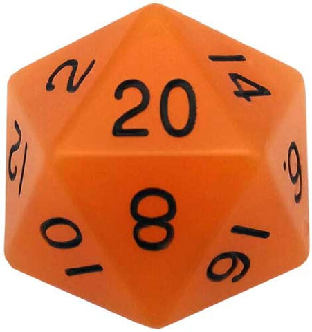 35mm Mega Acrylic 1D20 Glow Orange die