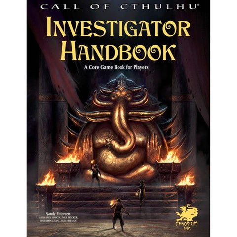 Call of Cthulhu 7th Ed. Investigator Handbook