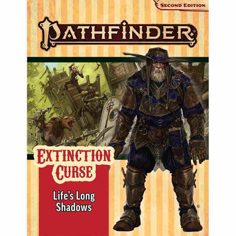 Pathfinder RPG - Second Edition: Adventure Path - Life's Long Shadow (Extinction Curse 3 Of 6)