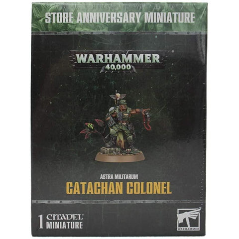 Catachan Colonel: Astra Militarum - 40k